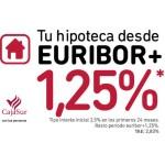 Nueva Hipoteca CajaSur: ¡desde Euribor + 1,25%!