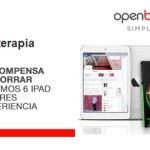 Openbank sortea 6 iPads y 6 packs Wonderbox entre sus clientes para incentivar el ahorro