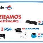 Ibercaja sortea 3 consolas PS4 cada trimestre a cambio de ceder nuestros datos a la entidad