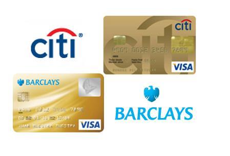 tarjetas credito oro citi barclays