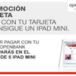 Pagar con una tarjeta Openbank tiene premio: la entidad sortea 5 iPads Mini