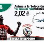 Depósito Mundial Caja Rural Granada: 2 % TAE + balón + sorteo de un viaje a Brasil