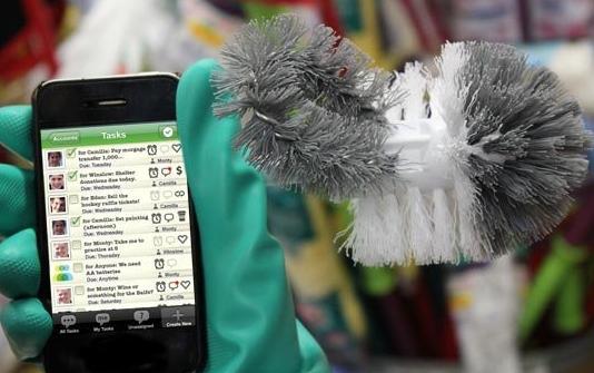 aplicaciones móviles para llevar la casa