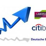 Deutsche Bank, Citibank y Laboral Kutxa suben el interés de sus depósitos
