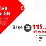 Vodafone recupera la tarifa Base GB