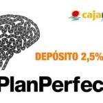 Nuevo depósito a un año de Cajamar al 2,50 % TAE