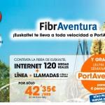 Euskaltel regala escapadas a Port Aventura para 4 personas