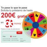 Ok Money ofrece créditos de 200 euros a 30 días gratis: ¡0 % TAE!