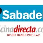 Comparativa: Oficinadirecta versus Banco Sabadell [16/01/2015]