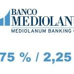 Nuevo Depósito Mix de Banco Mediolanum con una rentabilidad garantizada del 2,25 % TAE