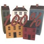 ¿Volverán las hipotecas 100 % en 2015?