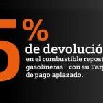 5 % de devolución en las gasolineras con tu Tarjeta de Crédito Bankinter