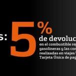 5 % de descuento en gasolina y viajes con la tarjeta de crédito Bankinter