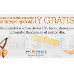ING presenta las transferencias bancarias en el mismo día