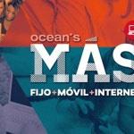 Ocean's mejora las tarifas móviles de sus convergentes