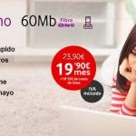 Vodafone ofrece 60 megas reales al precio de ADSL