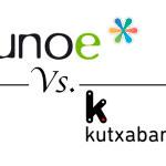 Comparativa: Uno-e VS Kutxabank [25/05/2015]