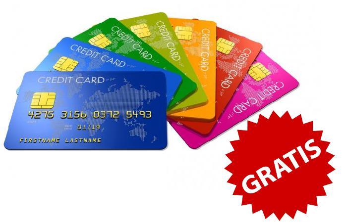 tarjetas de crédito sin comisiones