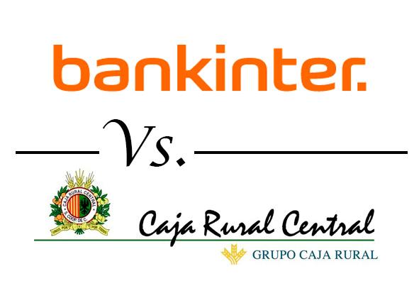 Bankinter vs caja rural central