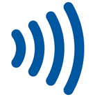 Símbolo del pago contactless de nuestras tarjetas de credito