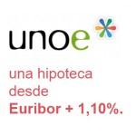 Unoe se suma a la guerra del diferencial y rebaja su hipoteca hasta Euríbor + 1,10 %