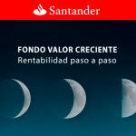 Santander comercializa un fondo de inversión que funciona como un depósito referenciado