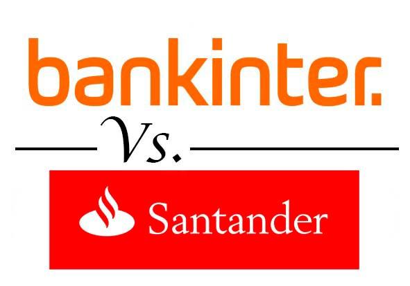 Comparativa mejores cuentas remuneradas Bankinter vs Santander