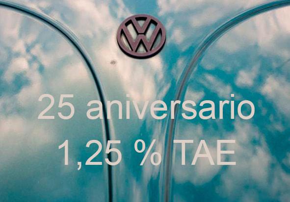 deposito a plazo fijo 25 aniversario volkswagen