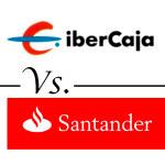 Comparativa de cuentas corrientes: Ibercaja VS Santander