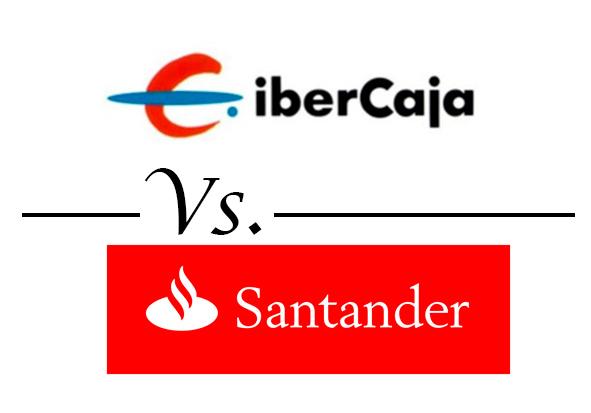 comparativa cuentas corrientes cuenta banco santander 123 vs ibercaja