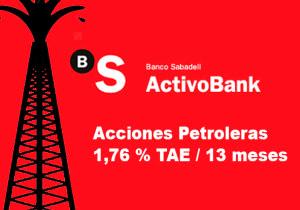 deposito referenciado acciones petroleras activobank