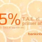 Bankinter: cómo conseguir un 5 % de rentabilidad sin nómina