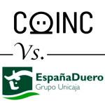 Comparativa de cuentas ahorro online: COINC vs Caja España-Duero