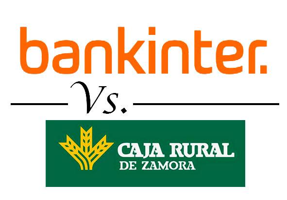 Comparativa mejores cuentas remuneradas bankinter vs caja rural zamora