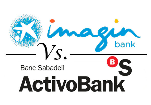 Comparativa cuentas sin comisiones imaginbank vs activobank