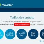 Movistar rebaja sus tarifas móviles al 50 %