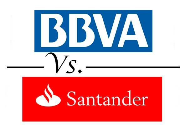 Comparativa mejores cuentas online BBVA vs Santander
