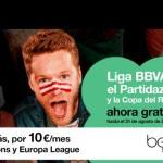 Orange regala el inicio de la Liga BBVA 16/17