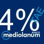Nuevo depósito al 4 % TAE de Banco Mediolanum