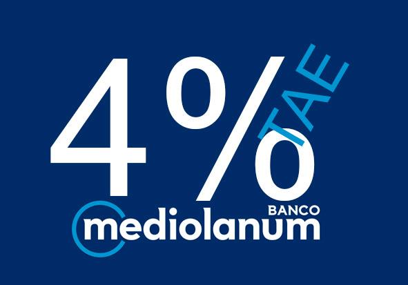 4 % deposito mediolanum