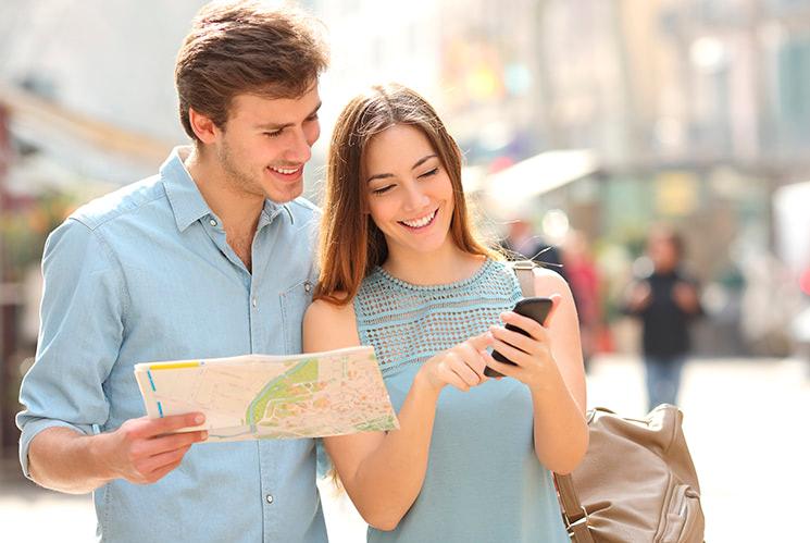 teléfonos móviles para viajar