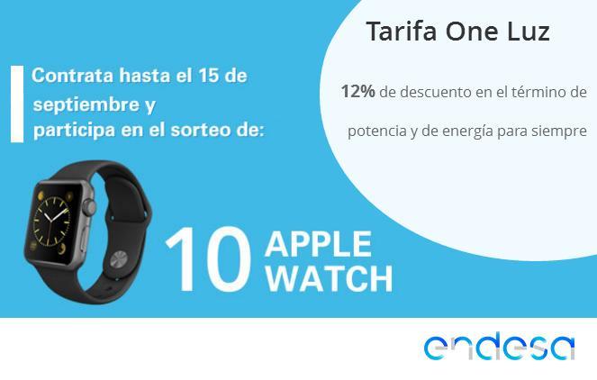 Endesa sortea 10 Apple Watch