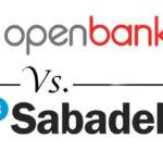 Comparativa cuentas con devolución de recibos: Sabadell vs. Openbank
