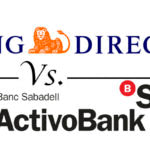 Comparativa cuentas online: ING Direct vs. ActivoBank
