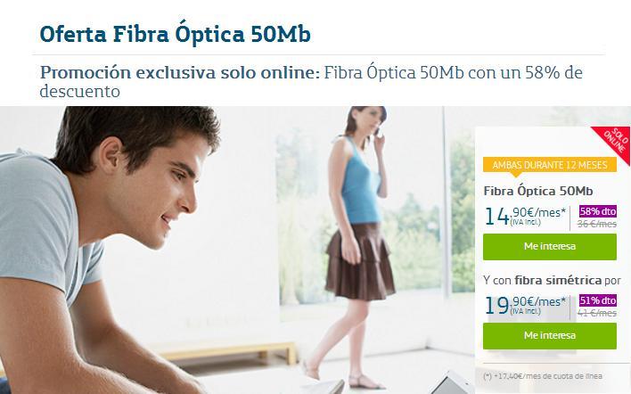 movistar fibra óptica 50mb