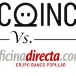 Comparativa de cuentas de ahorro: COINC vs. Oficinadirecta