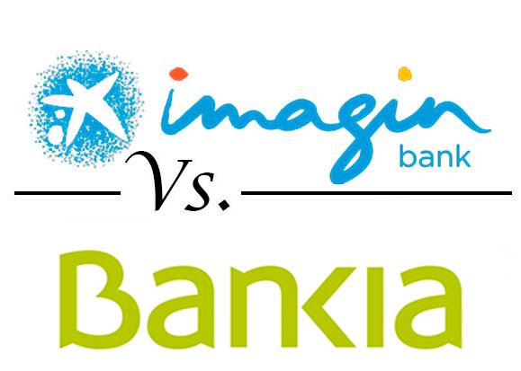 Comparativa cuentas con operativa online imaginbank vs for Bankia oficina de internet entrar
