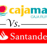 Comparativa de cuentas nómina: Cajamar vs. Santander