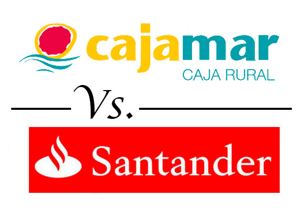 Comparativa mejores cuentas nomina cajamar vs santander