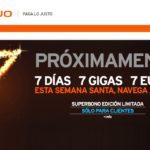 Simyo lanza un bono con 7 GB por 7 euros